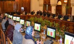 إجراء اختبارات الجدارات للمرشحين للوظائف الادارية العليا بجامعة الاسكندرية