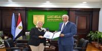 الدكتورة عبير عطية عميدًا لكلية السياحة والفنادق