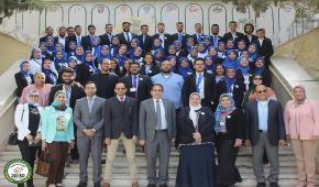 انطلاق المؤتمر الطلابي الثالث بكلية الزراعة