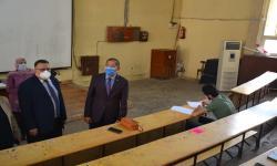 نائبا رئيس جامعة الإسكندرية يتفقدان أعمال امتحانات الفصل الدراسي الثاني للفرق النهائية
